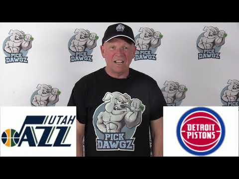 Utah Jazz vs Detroit Pistons 3/7/20 Free NBA Pick and Prediction NBA Betting Tips
