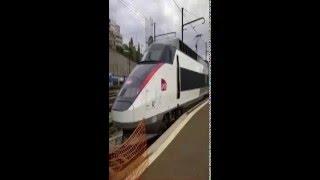 انطلاقة القطار الفائق السرعة 'تي جي في' بطنجة TGV