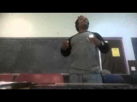 Diallo-Sekou  Teaching on Community & Sacrifice