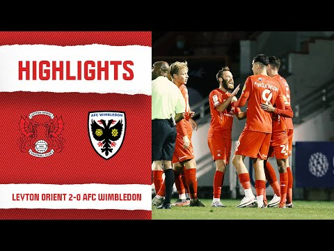 Leyton Orient AFC Wimbledon Goals And Highlights