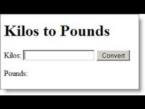 Kilos To Pounds