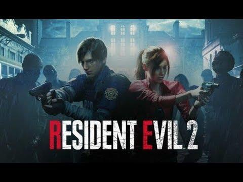 Resident Evil 2 :#2 Изи убийство 1 босса, ужасы нашего городка