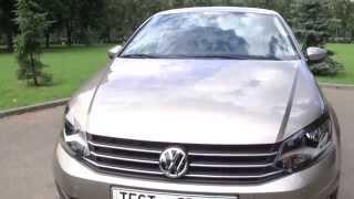 рассказ Volkswagen Polo Sedan(Генеральный партнер