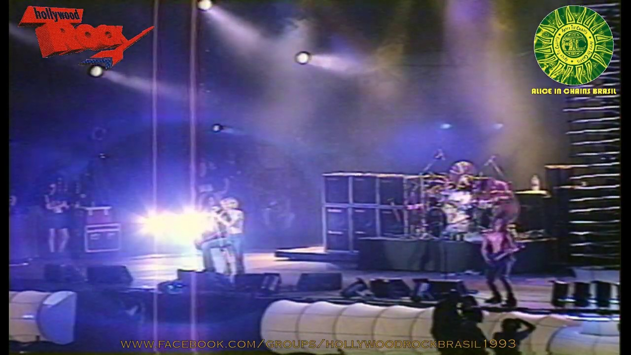 Alice in Chains - São Paulo, Brasil, 15.01.1993 - Hollywood Rock Festival