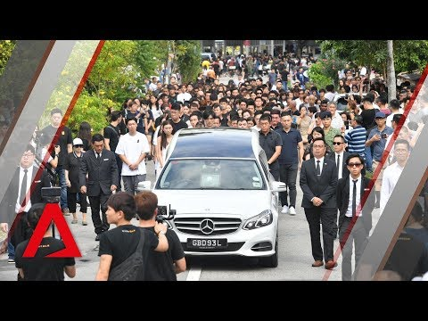 The Final Farewell: Aloysius Pang Laid To Rest