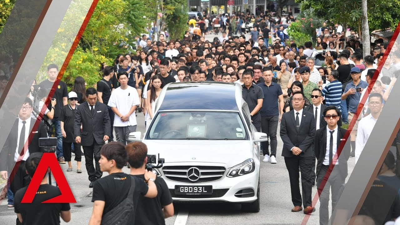 The Final Farewell Aloysius Pang Laid To Rest