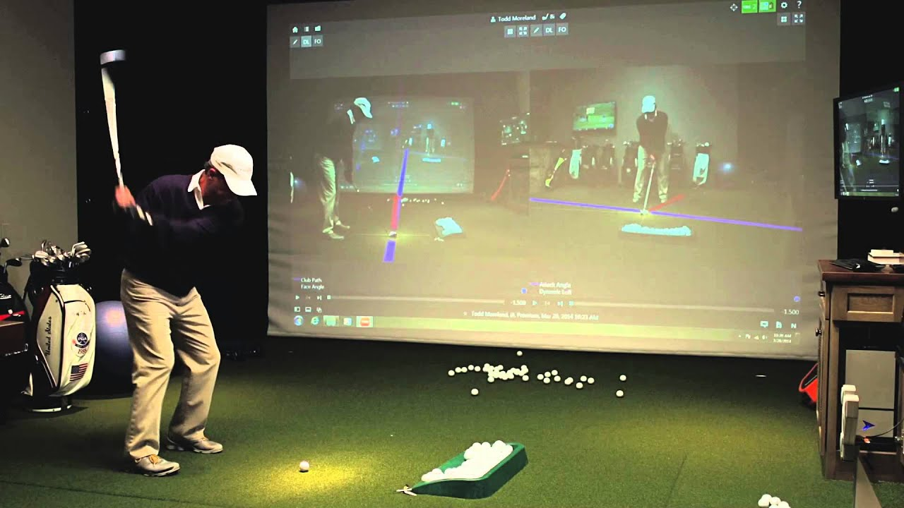 Golf Simulator For Sale >> TrackMan Golf Simulator - YouTube