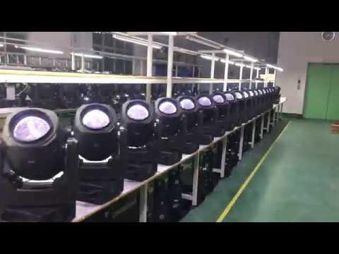Nebula Lighting - 80W LED beam - Testing