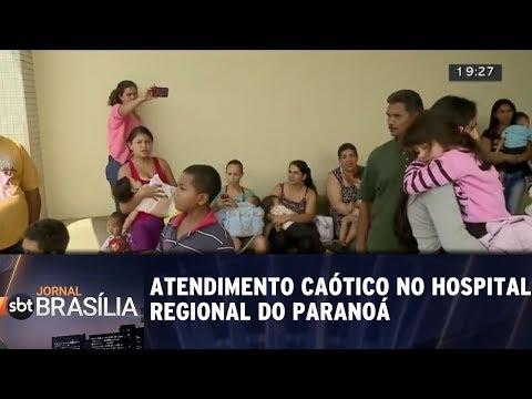Atendimento caótico no Hospital Regional do Paranoá
