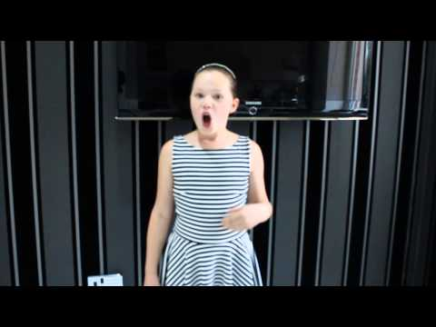 Madison Naylor singing 'Consider Yourself' from 'Oliver'