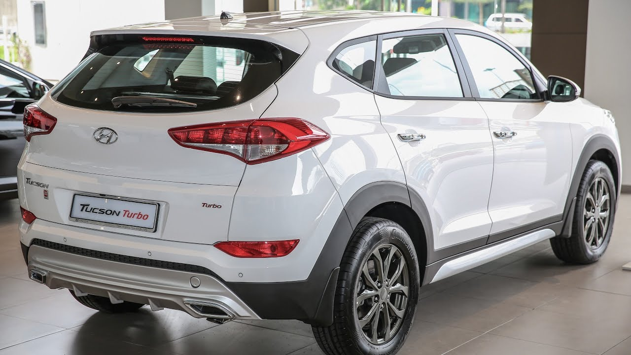 2017 Hyundai Tucson Turbo Exterior And Interior