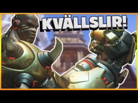 Kvällslir med Shifty Overwatch på Svenska Gameplay