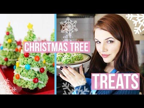 CHRISTMAS TREE TREATS!   Cherry's Kitchen
