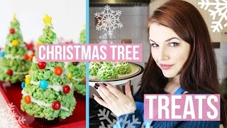 CHRISTMAS TREE TREATS! | Cherry