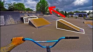 THE BMX DOUBLE DEATH GAP!