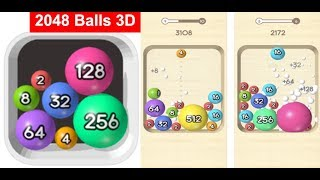 2048 Balls 3D - ( Voodoo ) Gameplay