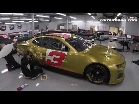 ¿Cómo se plotea un auto del NASCAR? (16-12-2018) Carburando.com