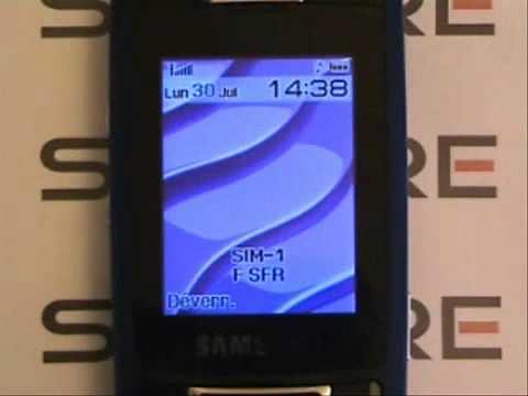 samsung guru dual sim SGH D900