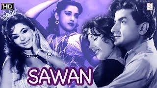 Gambar cover Sawan - Ameeta, Bharat Bhushan - Romantic Movie - B&W - HD