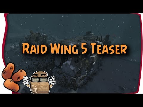 Guild Wars 2  - Raid Wing FIVE Hint/Teaser   A Glimpse At Somewhere... Snowy? A Detailed Look
