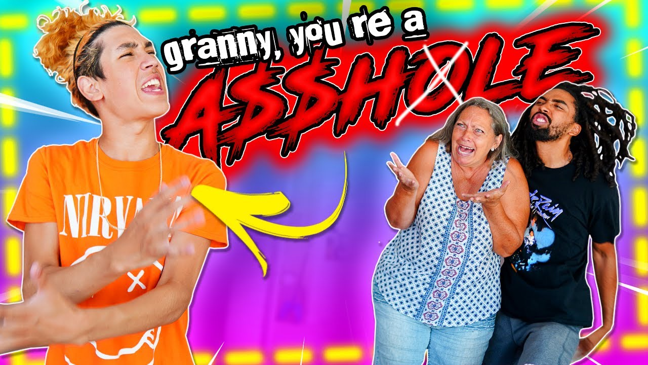 """""""GRANNY..YOU'RE AN A$#HOLE"""" 😳!! SUUPER SAVAGE PRANK on MY FAMILY!!"""