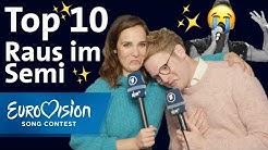 ESC Raus im Semifinale: Die Top 10 von Alina und Stefan | Eurovision Song Contest | NDR