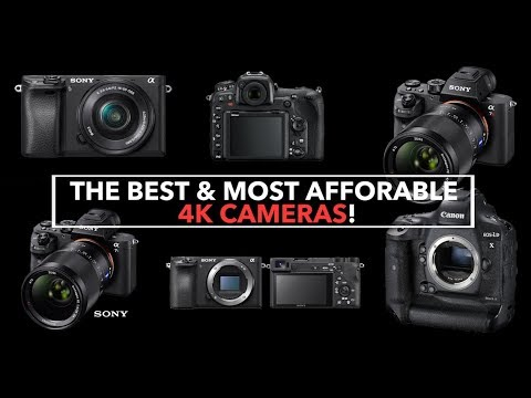 BEST & MOST Affordable 4K Cameras On The Market!