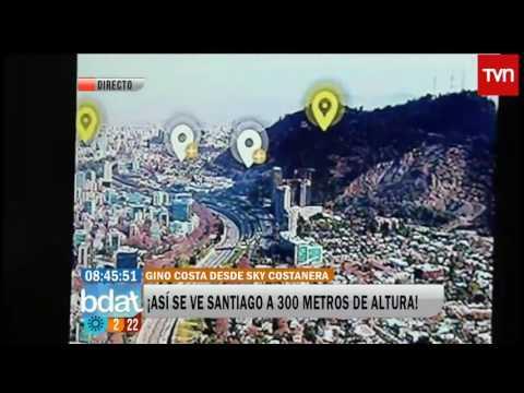 Aplicación permite ver Santiago del año 1541