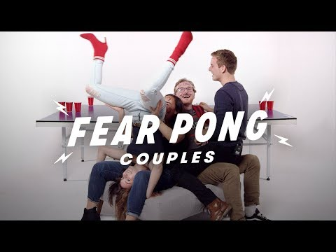 Couples Play Fear Pong (Analisa & Aaron vs. Ian & Makaela) | Fear Pong | Cut thumbnail