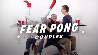 Couples Play Fear Pong (Analisa & Aaron vs. Ian & Makaela) | Fear Pong | Cut