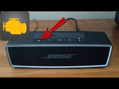 A final fix for a Bose Soundlink II Bluetooth speaker that is blinking red