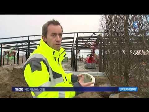 VALLOIS - Reportage France 3 - Chantier Village des Marques à Honfleur