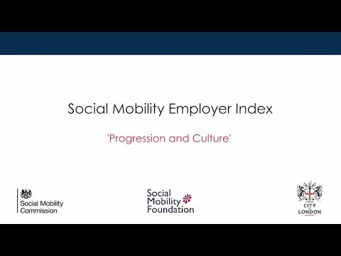 Social Mobility event - Progression and Culture