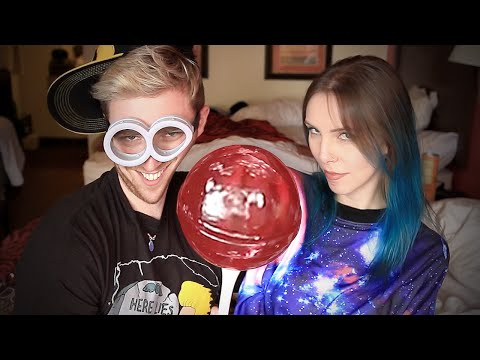 COMENDO DOCES GIGANTES (ft. Gabbie Fadel) | LubaTV from YouTube · Duration:  10 minutes 24 seconds