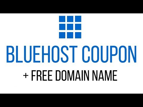 Bluehost Coupon Code 2019 – Bluehost Discount – 70% Off + Free Domain Name