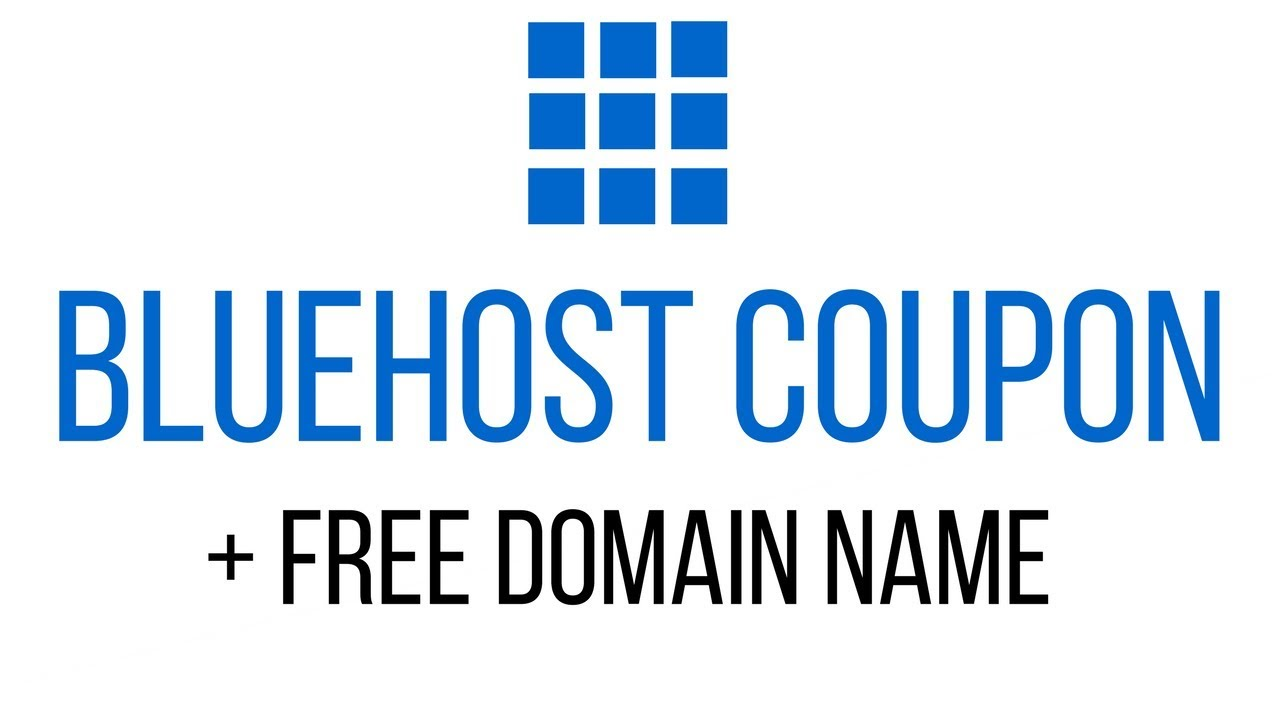 coupon code for Bluehost