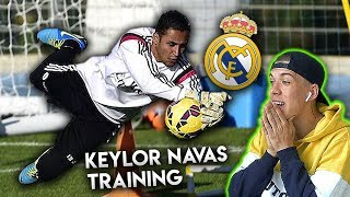 Profi Torwart Training lernen mit Keiler Navas (Teil 1)