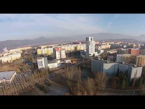 DJI PHANTOM 2 VISION ZILINA CITY WINTER 2015 EUPARTS