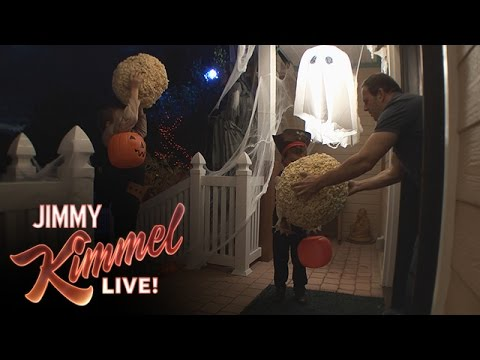 Cousin Sal Tricks Trick or Treaters 2014 - Cousin Sal Tricks Trick or Treaters 2014