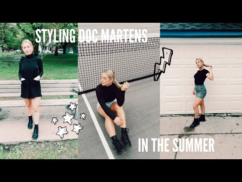 how to: STYLE DOC MARTENS IN THE SUMMER