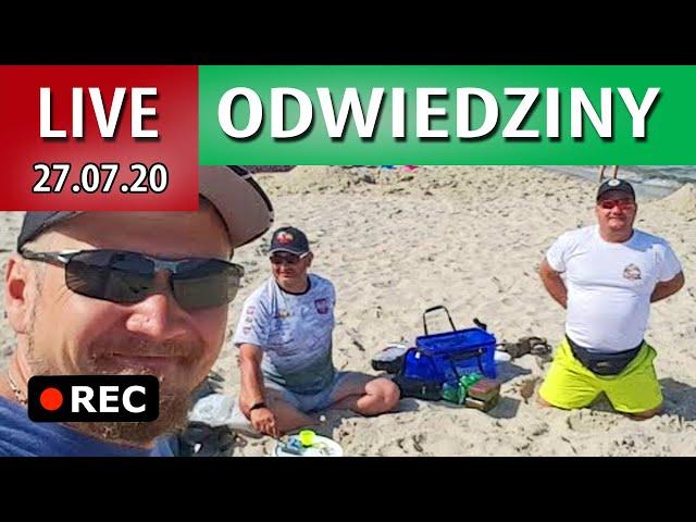 LIVE z plaży - integracja JEST ryby BRAK