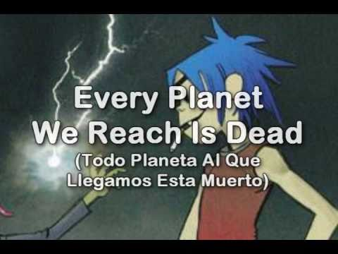 Gorillaz  Every Planet We Reach Is Dead Subtitulado en Español