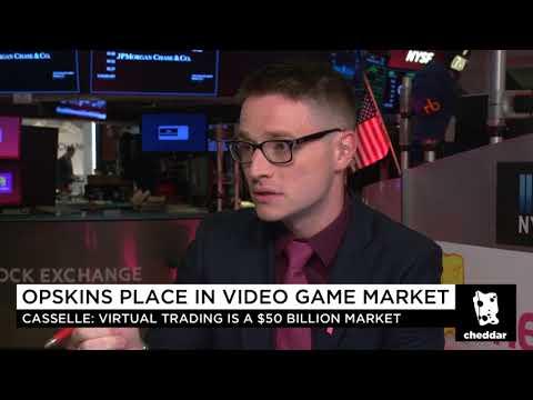Malcolm CasSelle Cheddar TV WAX 0170928  The $50 Billion Virtual Trading Company