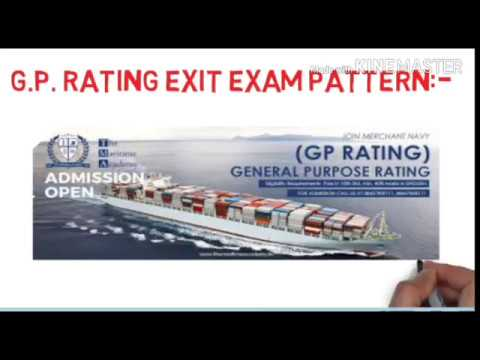 GP RATING Final Exit Exam Pattern | Passing marks, Types of Questions
