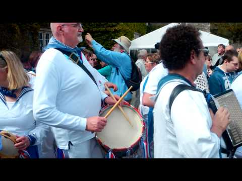 Obby Oss Day In Padstow, Cornwall 2012-Part 5.MP4