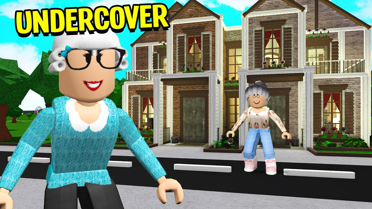 Roblox My Dollhouse Youtube Grandma Had A Creepy Secret I Went Undercover To Expose It Roblox Bloxburg Youtube