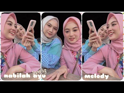 Live Ig Nabilah Ayu Bareng Melody (210901)