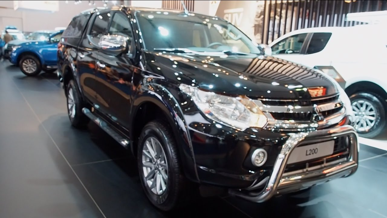 mitsubishi l200 2017 in detail review walkaround interior exterior youtube. Black Bedroom Furniture Sets. Home Design Ideas