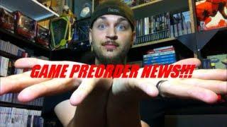 GAME PREORDER NEWS!!! | Scottsquatch