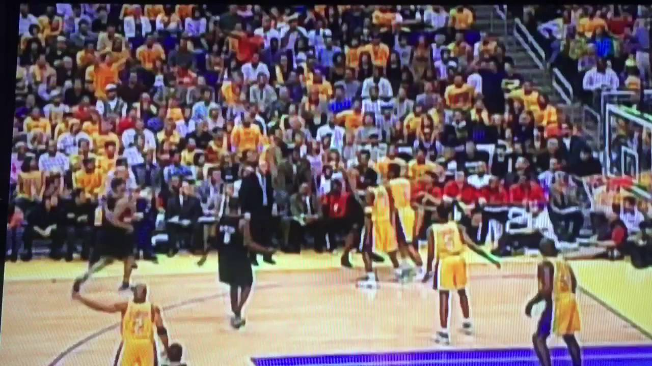 2000 Blazers Lakers Game 7 (Part 5) - YouTube